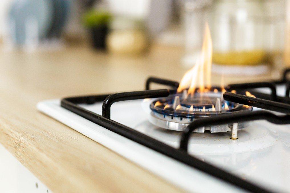 coil vs flat-top stove.
